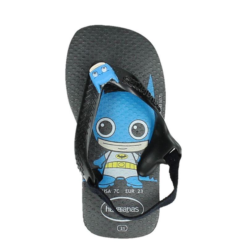 Havaianas Baby Herois DC - Slippers - Zwart