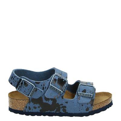 Birkenstock jongens sandalen blauw