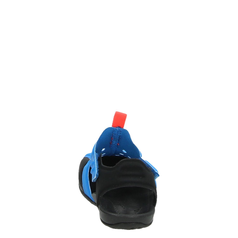 03e54e6e567 Nike Sunray Protect jongens sandalen blauw