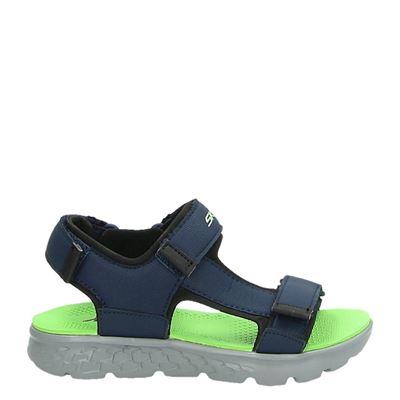 Skechers jongens sandalen blauw