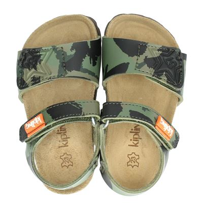 Kipling jongens sandalen groen