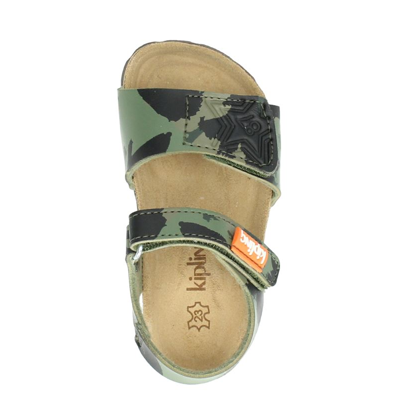 Kipling Kenji 3 - Sandalen - Groen