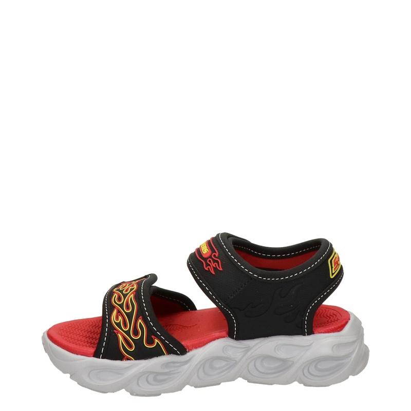Skechers Thermo Splash - Sandalen - Zwart