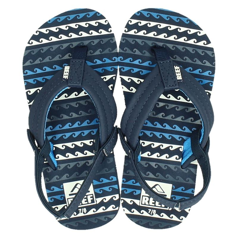 Reef Little Ahi Water - Slippers - Blauw
