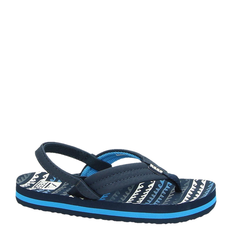 72a696d463f Reef Reef Little ahi water jongens slippers blauw