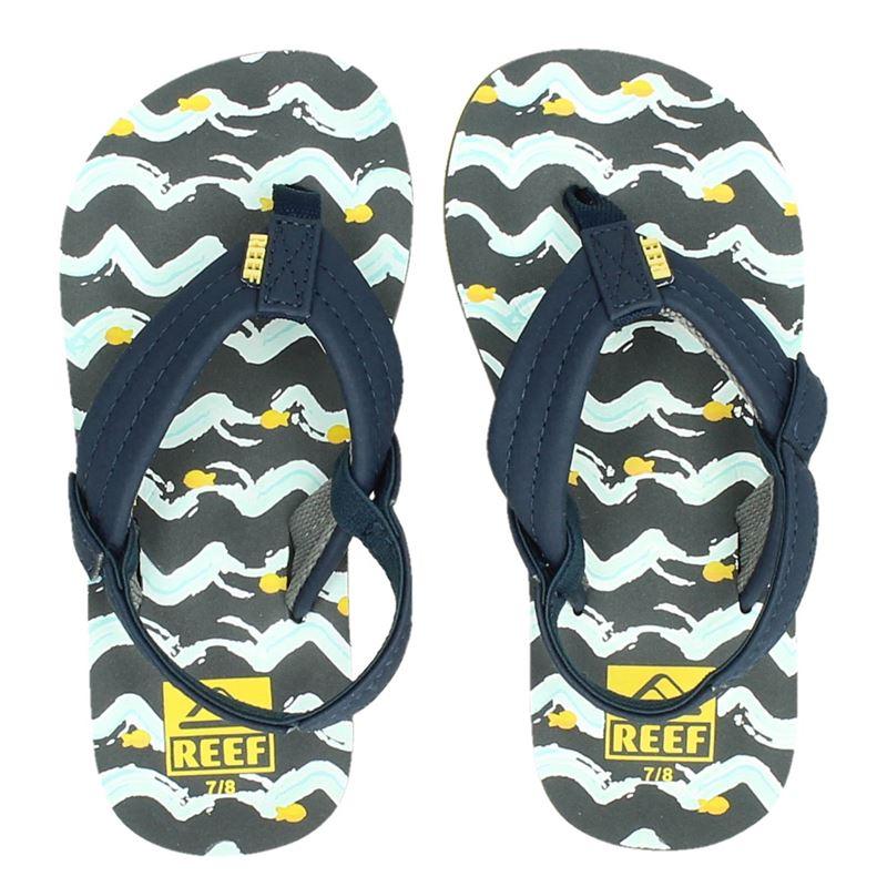 Reef Little Ahi Fish - Slippers - Blauw