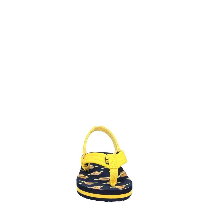 Reef Little Ahi - Slippers - Geel