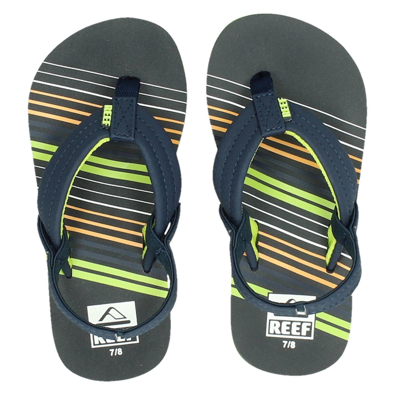 f4d4125f7a3 Reef Ahi jongens slippers blauw