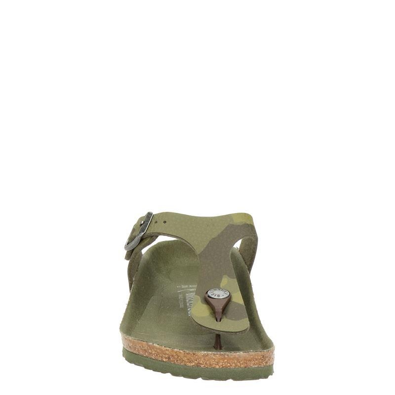Birkenstock Gizeh - Slippers - Groen