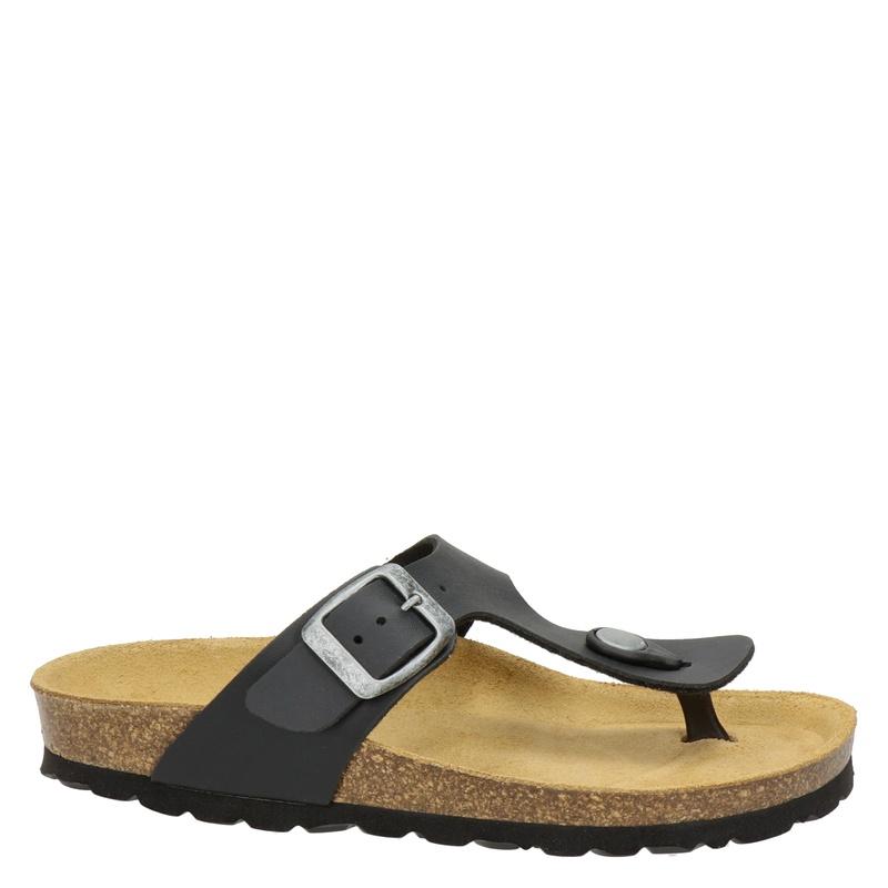 Nelson Kids - Slippers - Zwart