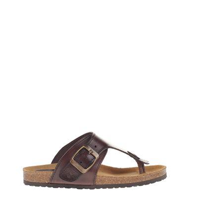 Clic! jongens slippers bruin