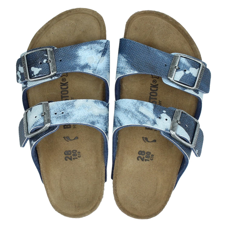 5a894d62f24 Birkenstock Arizona jongens slippers blauw