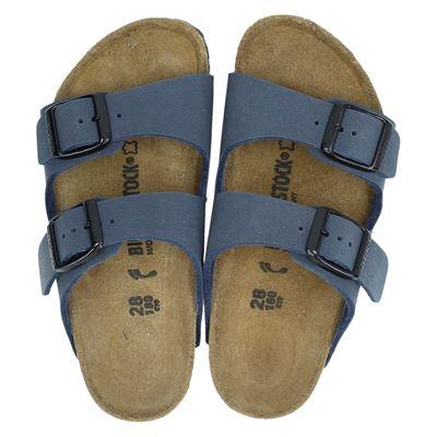 Birkenstock jongens slippers blauw