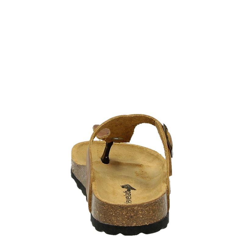 Develab - Slippers - Cognac