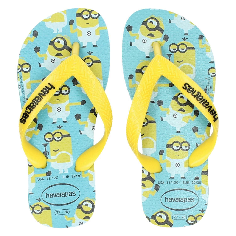 a2fe1ebe945f5c Havaianas Minions jongens slippers geel