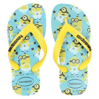 Havaianas jongens slippers geel