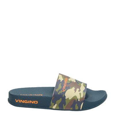 Vingino jongens slippers groen