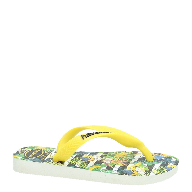6f36c57f841ab9 Havaianas Minion jongens slippers wit