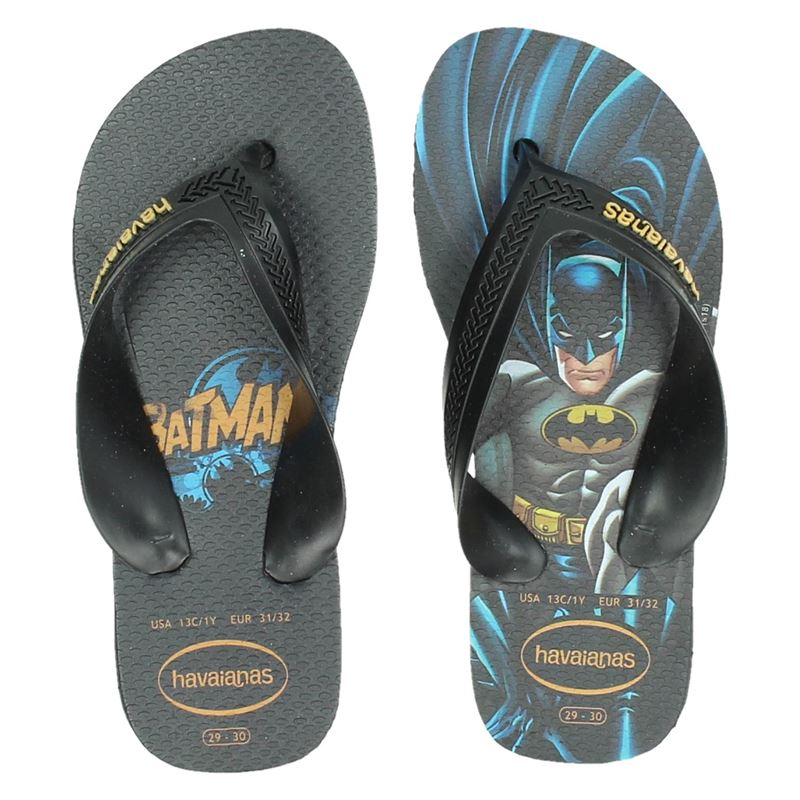 Havaianas Kids Max Herois - Slippers - Zwart