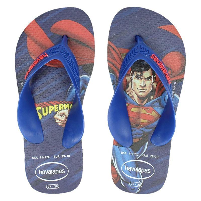 Havaianas Kids Max Herois - Slippers - Blauw