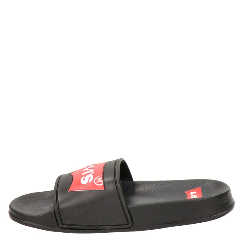 Levi's - Slippers - Zwart