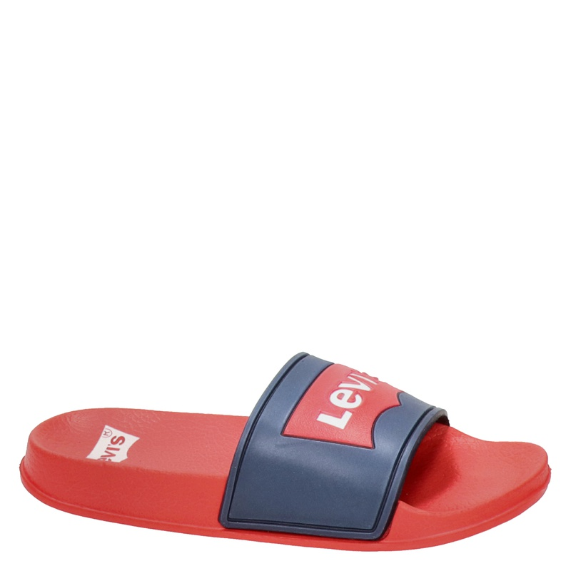 Levi's - Slippers - Rood