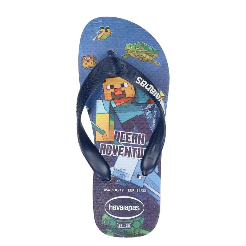 Havaianas Minecraft - Slippers - Blauw