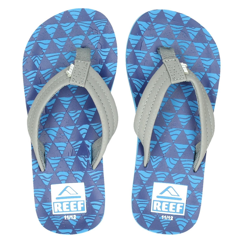 90f4a8d20dd3 Reef Ahi jongens slippers blauw