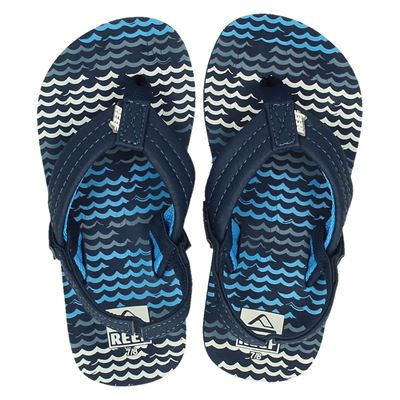 Reef jongens slippers blauw