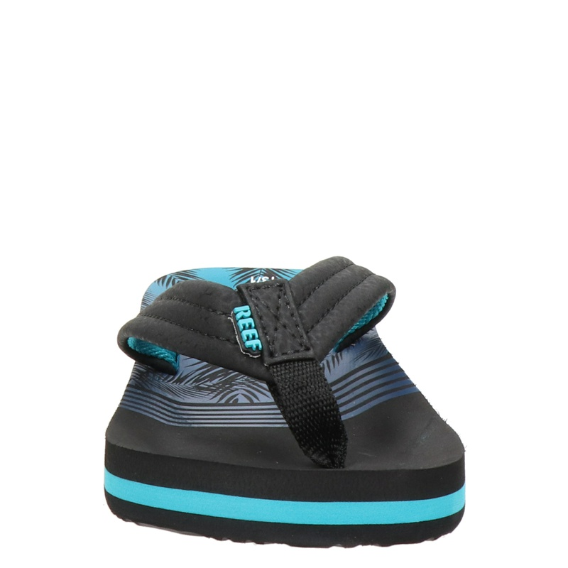 Reef Ahi Aqua Palms - Slippers - Blauw