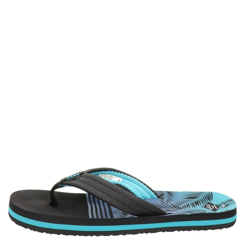 Reef Ahi Aqua Palms - Slippers - Blauw