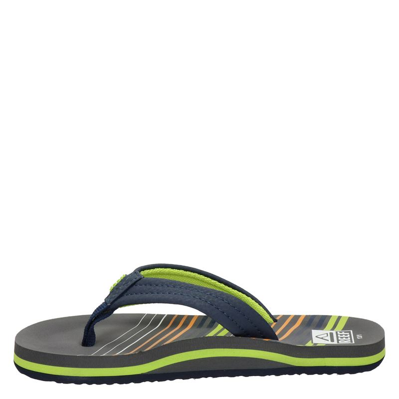 Reef Ahi stripe - Slippers - Blauw