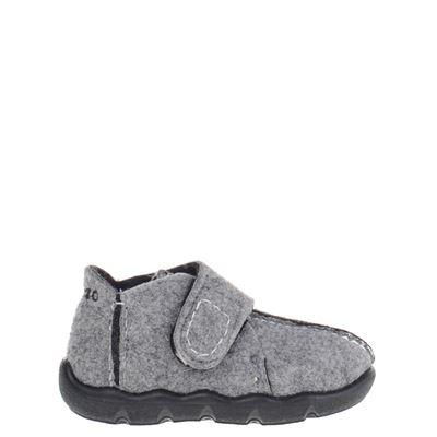 Blenzo jongens pantoffels grijs