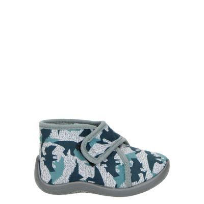 Nelson Home jongens pantoffels grijs