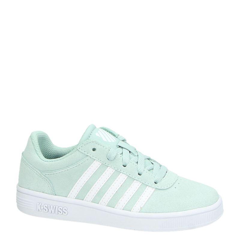 K-Swiss Girls Court Cheswick - Lage sneakers - Groen