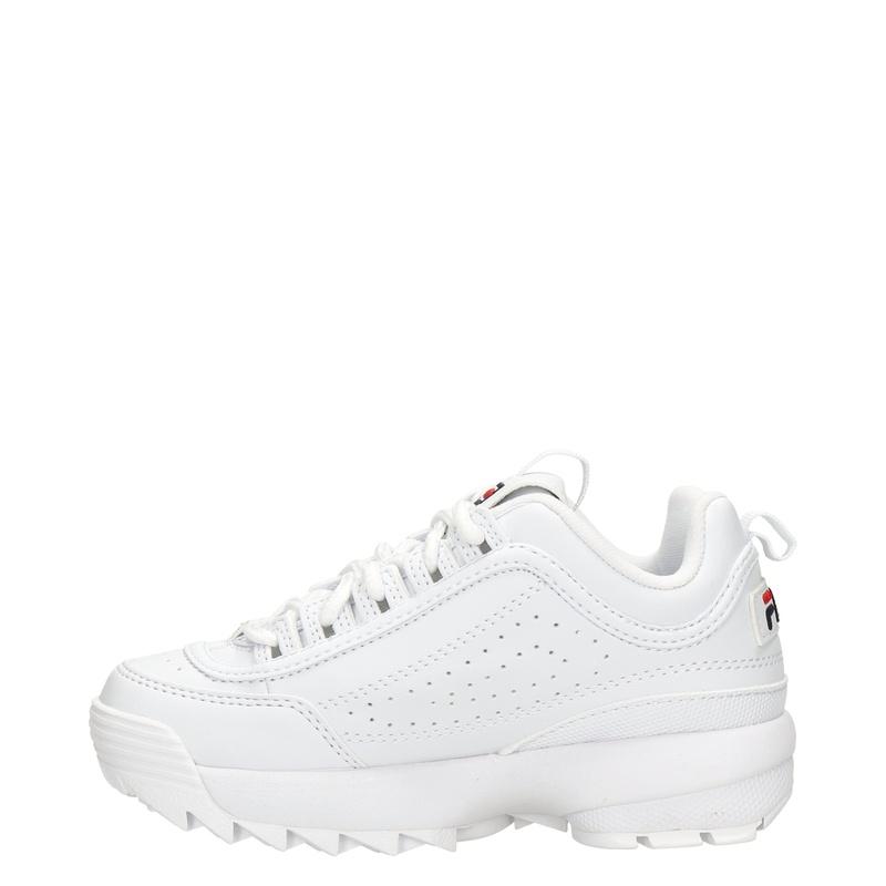 Fila Disruptor - Lage sneakers - Wit