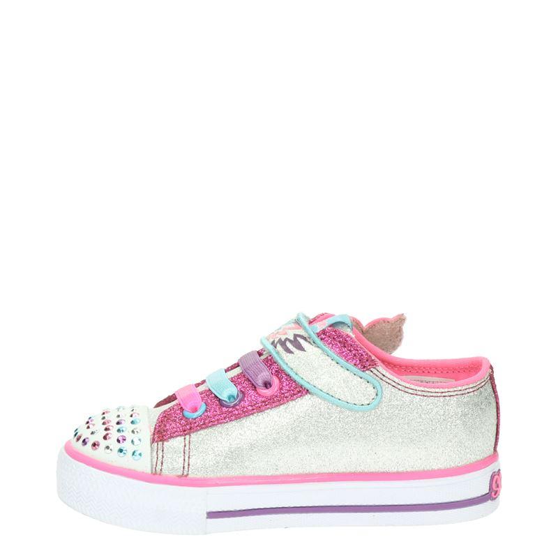 Skechers Twinkle Toes - Lage sneakers - Zilver