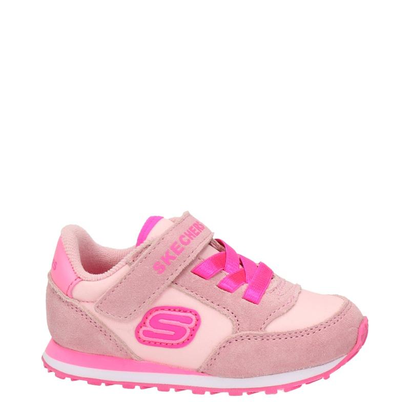 Skechers - Klittenbandschoenen - Roze