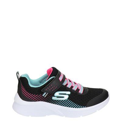 Skechers Microspec - Lage sneakers - Zwart
