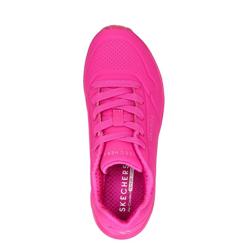 Skechers Night Shades - Lage sneakers - Roze