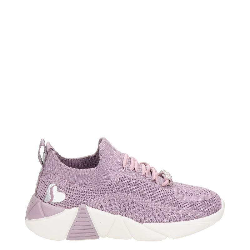 Skechers A Line Diamond Glide lage sneakers