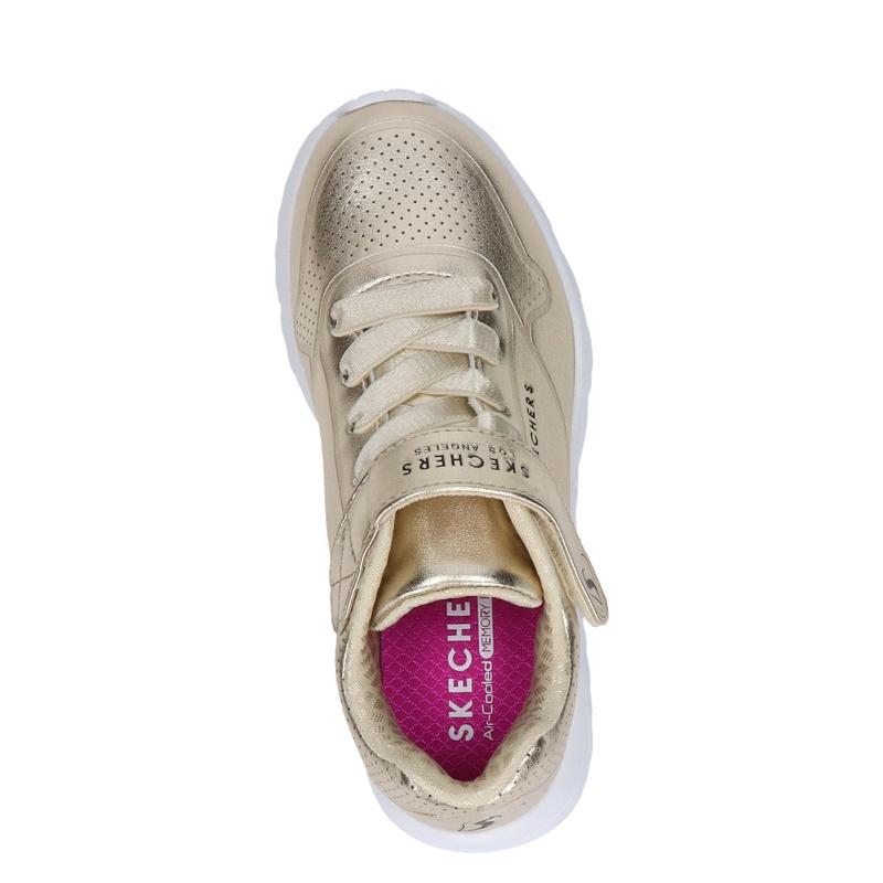 Skechers Uno Lite - Klittenbandschoenen - Goud