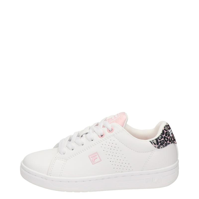 Fila Crosscourt - Lage sneakers - Wit