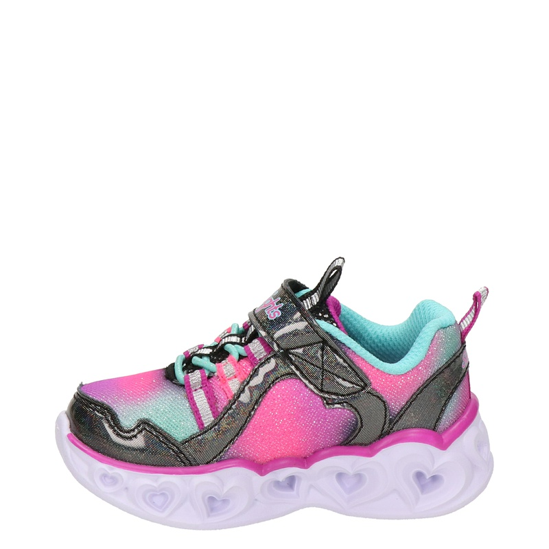 Skechers Rainbow Lux - Lage sneakers - Zwart