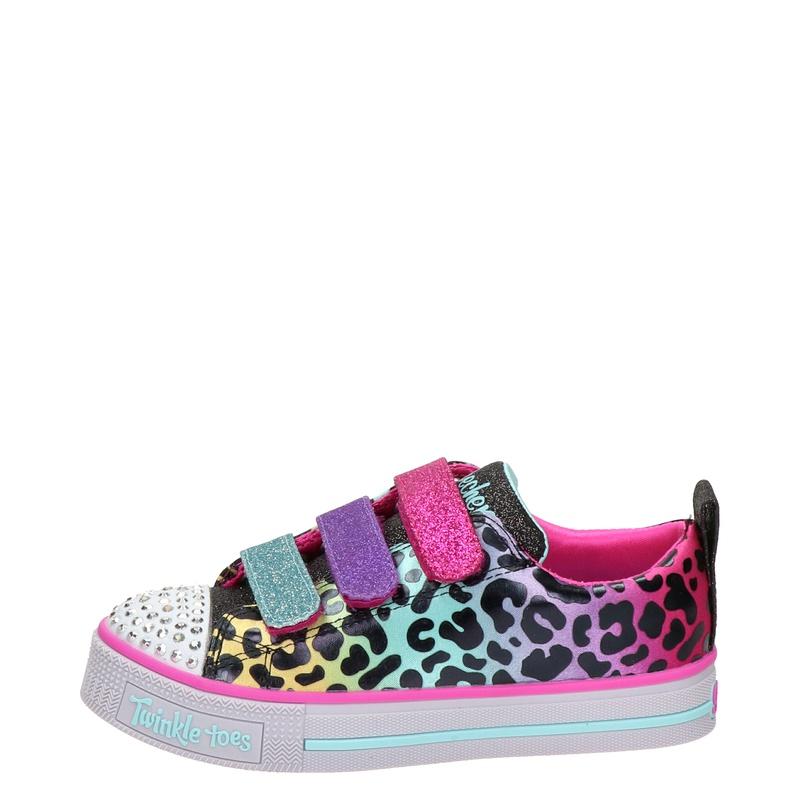 Skechers Twinkle Toes - Klittenbandschoenen - Zwart