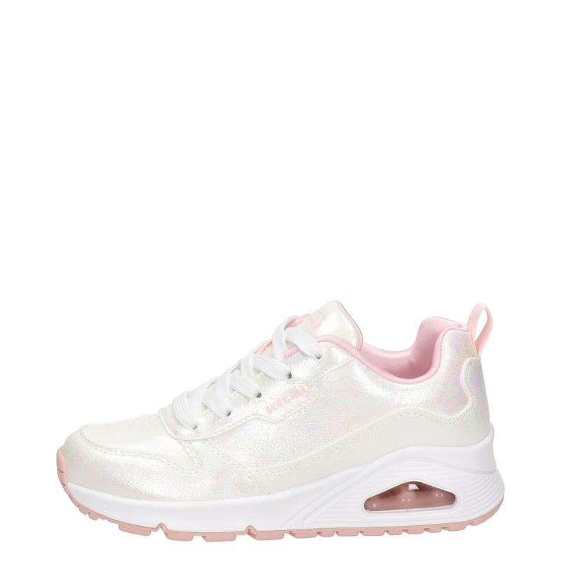 Skechers Street Uno - Lage sneakers - Ecru