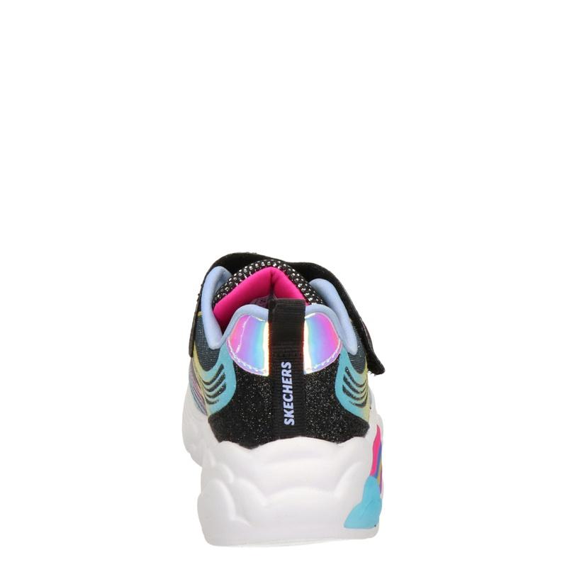 Skechers Rainbow Racer - Lage sneakers - Zwart