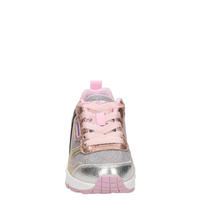 Skechers Uno lite - Lage sneakers - Zilver