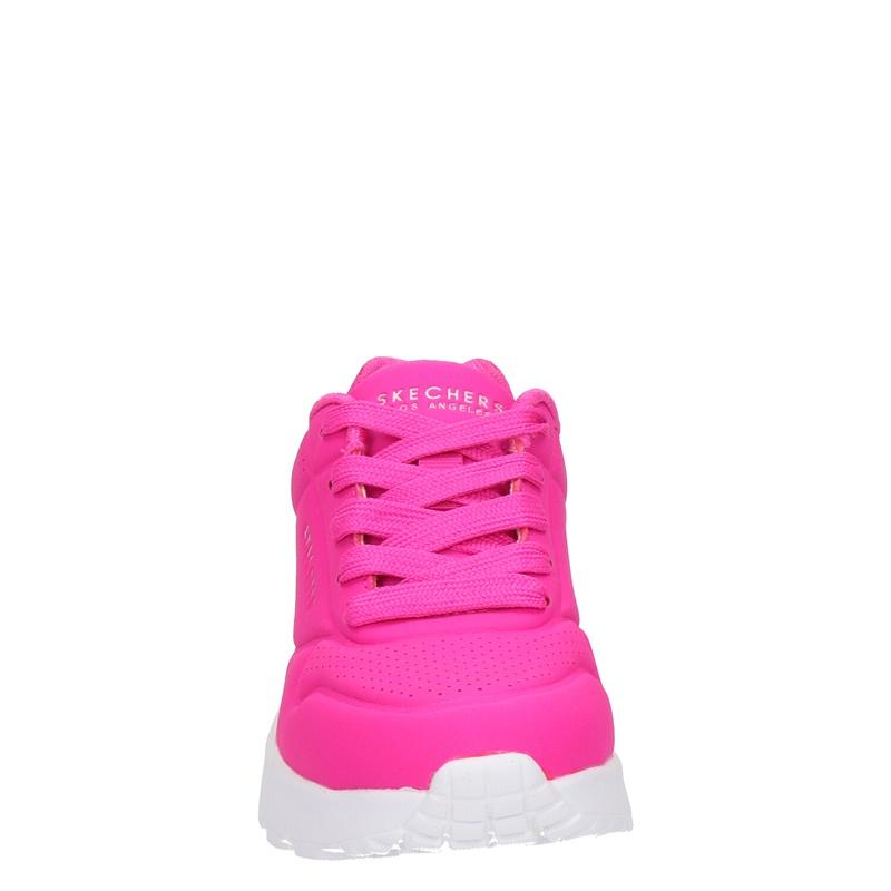 Skechers Street Uno Lite - Lage sneakers - Roze