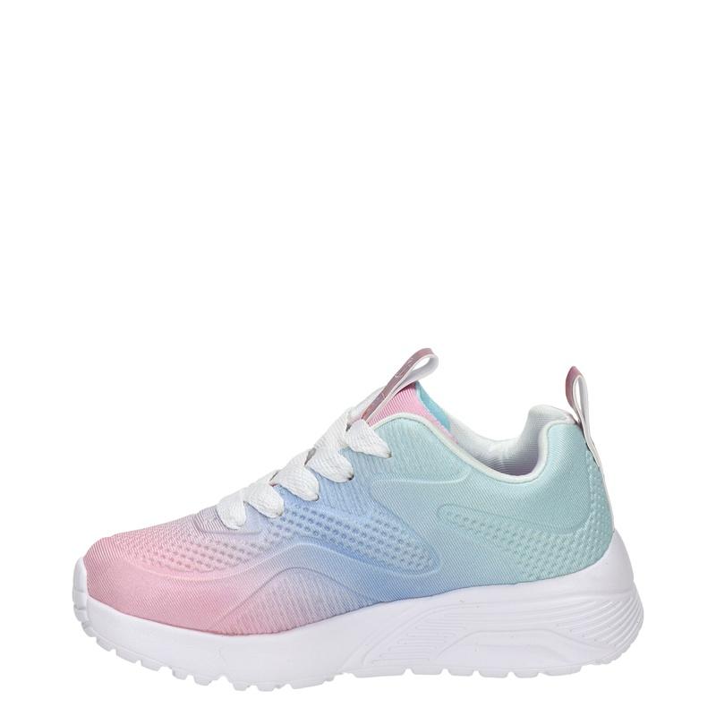 Skechers Uno Lite Street - Lage sneakers - Blauw